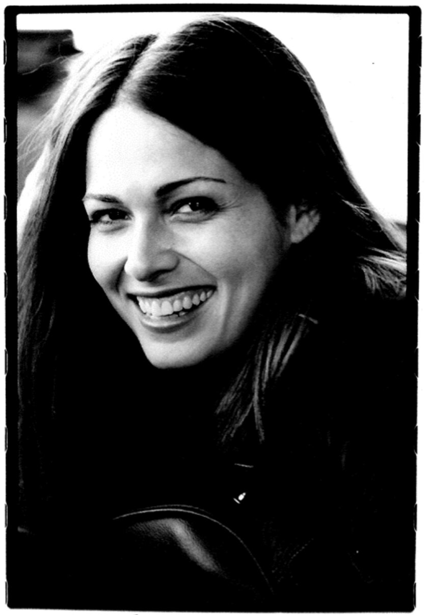 """This undated photo provided by the Goldberg family shows movie and television actress Sarah Goldberg Goldberg who starred in """"7th Heaven"""" and """"Jurassic Park III,"""" died Sept. 27, at age 40 in her sleep from natural causes, at the family's cabin in Wisconsin her mother Judy Goldberg said. Goldberg's entertainment career started as a bumblebee in a Chicago City Ballet production of """"Cinderella,"""" and gained momentum when she was asked to be an extra on the Julia Roberts movie """"My Best Friend's Wedding."""" The actress sometimes was credited under the stage name Sarah Danielle Madison. (AP Photo/Courtesy the Goldberg family) NO SALES"""