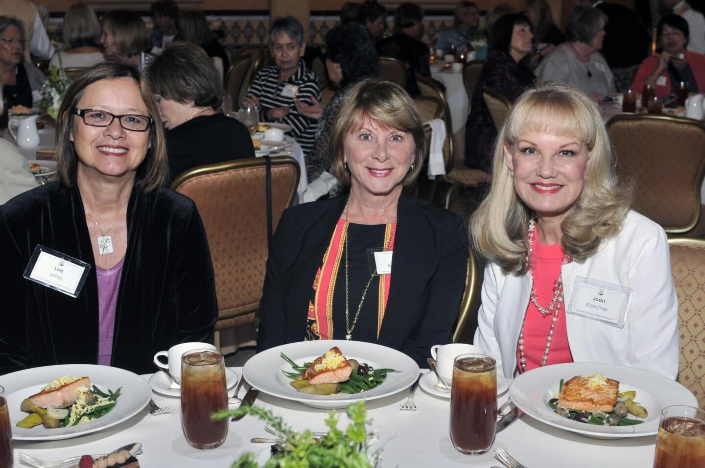 Lois Jones, Lindy Bowman, Joan Kaestner