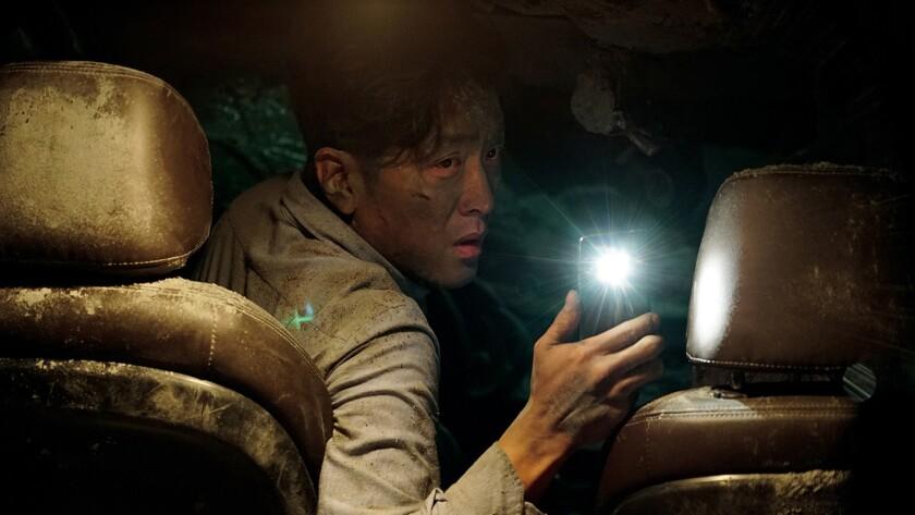 "Ha Jung-woo in the Korean-language thriller ""Tunnel."""