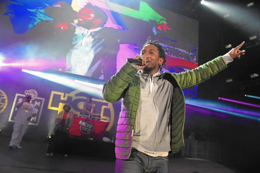Kendrick Lamar will play Staples Center on Saturday as part of the BET Experience festival.