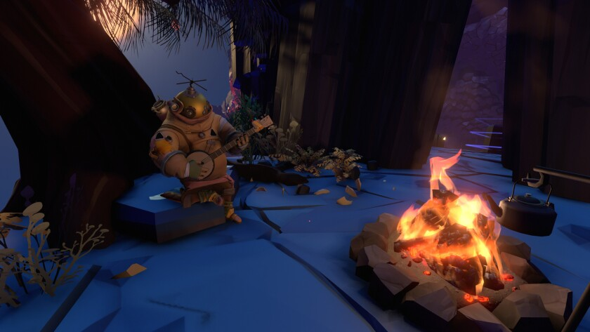 """OUTER WILDS,"" a sci-fi adventure, is one of the first major releases from Mobius Digital, founded b"