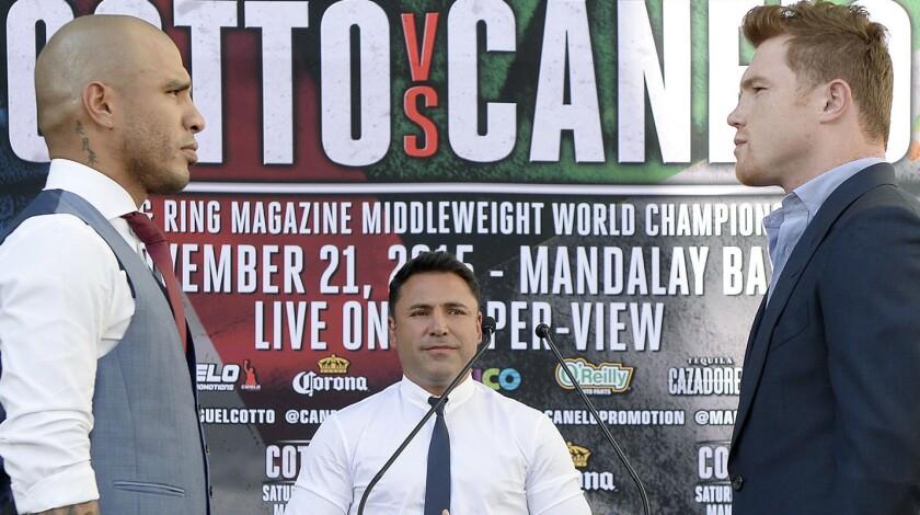 Miguel Cotto vs 'Canelo' Álvarez...choque en camino.