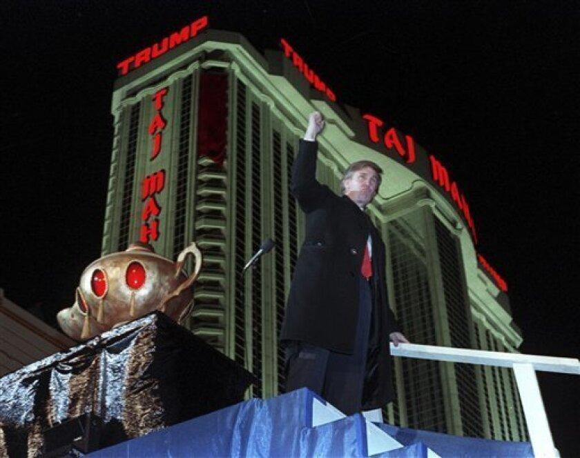 El hotel y casino Trump Taj Mahal de Atlantic City cierra sus puertas.