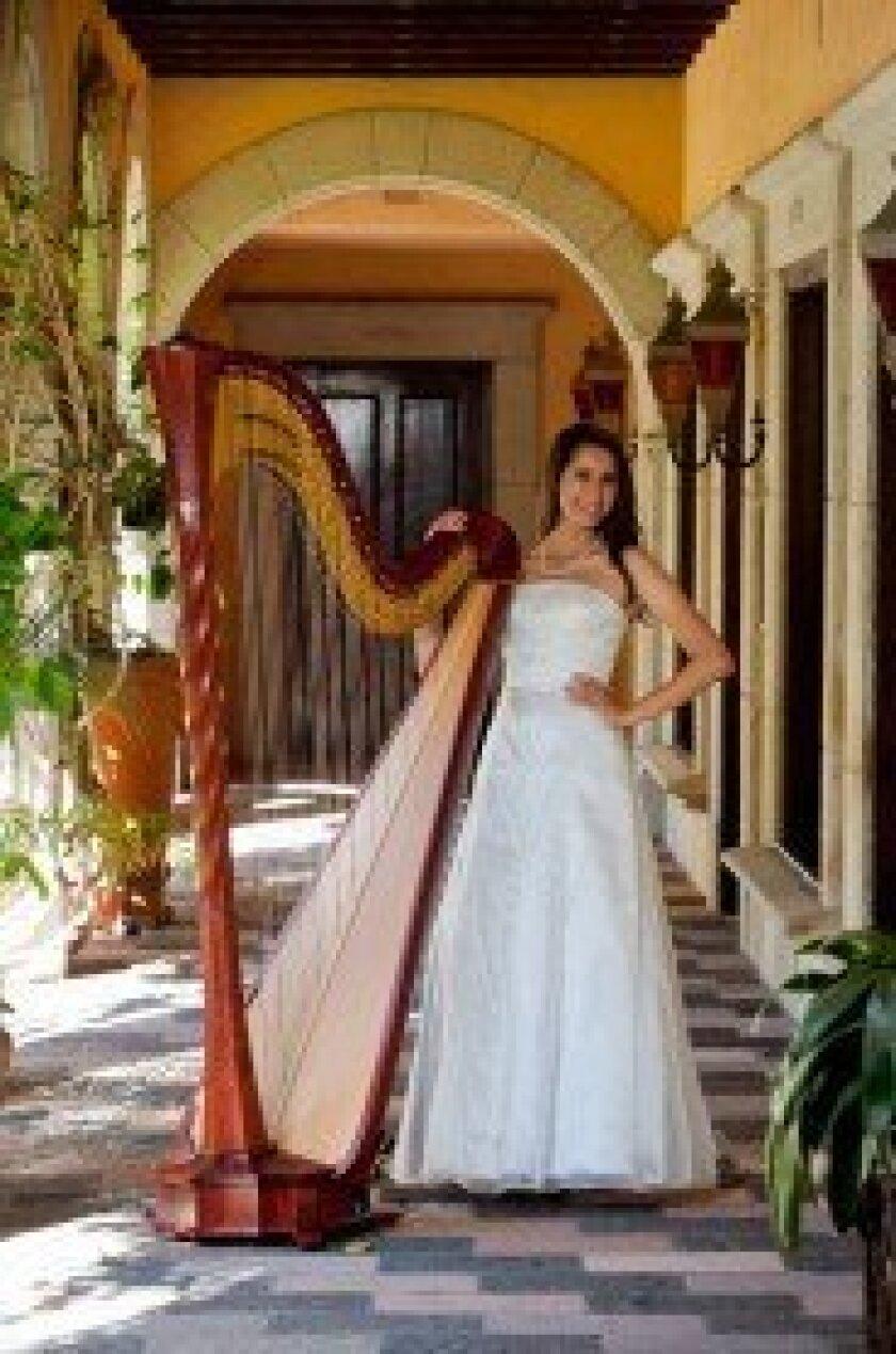 Julie Marie Schorn, harpist