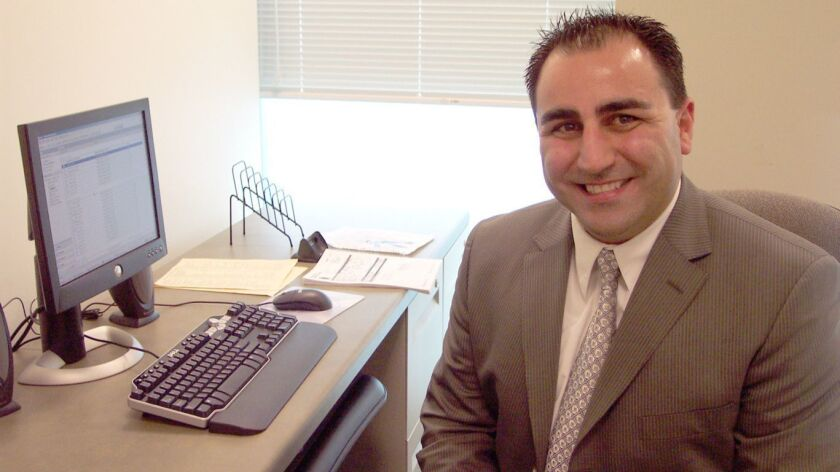 John Balian, above, has become the new public information officer for the Glendale Police Dept. -- P
