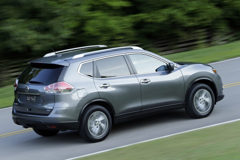 The 2014 Nissan Rogue's continuously variable transmission feels as if it¿s constantly fighting against a rubber band, whether you¿re accelerating or coasting.