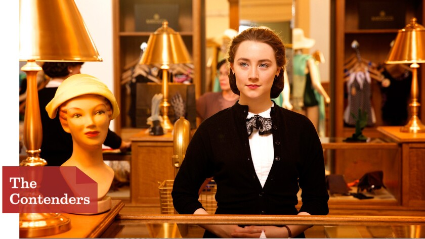 """""""Brooklyn,"""" starring Saoirse Ronan, was made after its producer secured $8 million of the $11-million budget with global co-production treaties."""