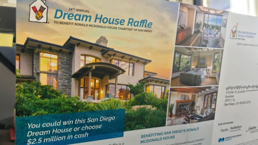 Consultant makes money on 'dream house' raffles, even if