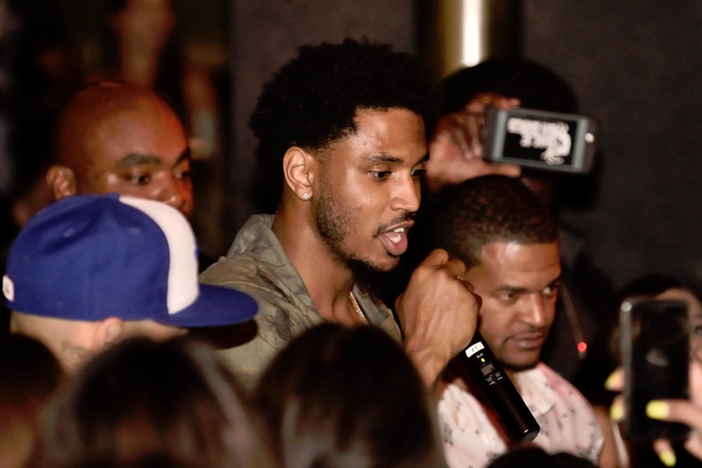 Superstar artist Trey Songz took over the Gaslamp's newest hotspot, Oxford Social Club, on Monday, July 3, 2017. (Jesse Arroyo)