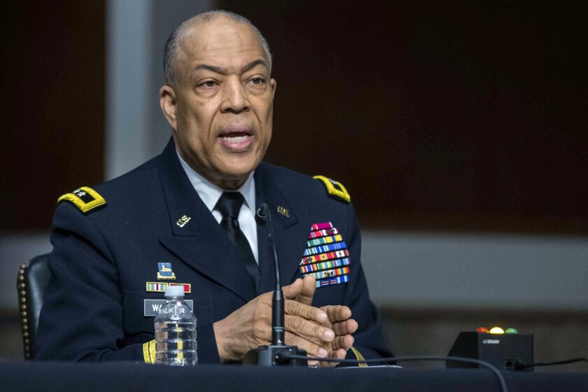 Maj. Gen. William J. Walker testifies.