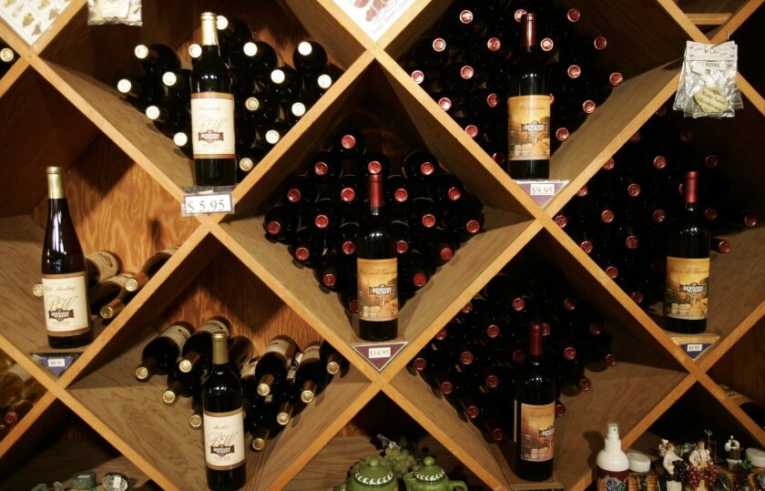The Bernardo Winery in Poway was victimized by a burglar or two Monday morning.