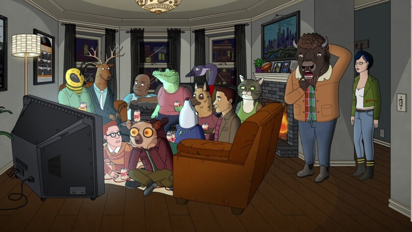 """BoJack Horseman"" on Netflix"