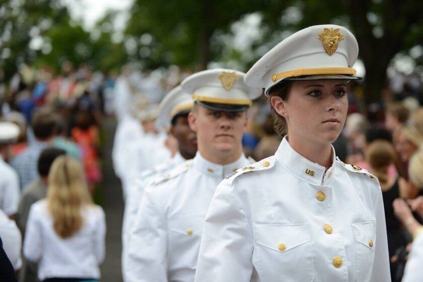 Cathedral Catholic alumna Katrina Mecklenburg is in her senior year at West Point.