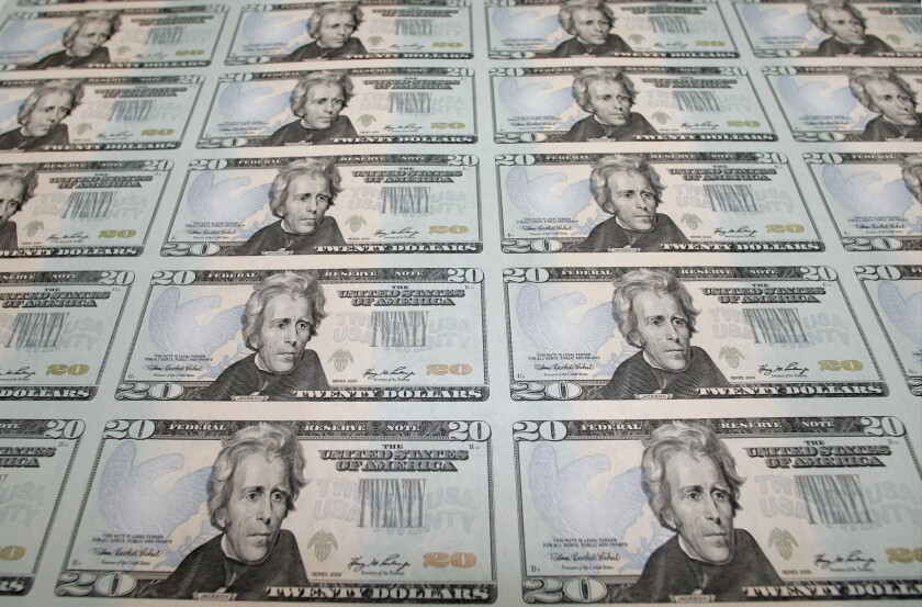 Let's correct an oversight: Add some women to U.S. currency.
