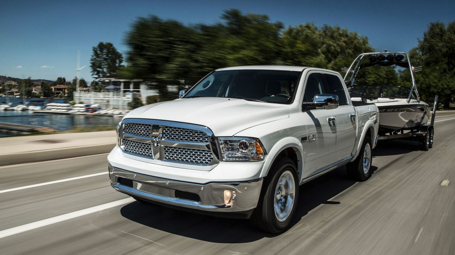 Ram 1500 Ecodiesel Is Built To Tow The Morning Call