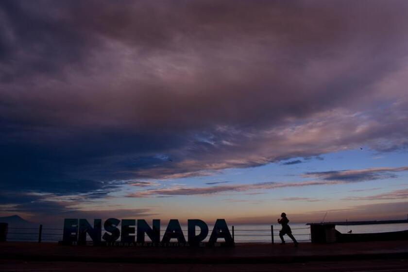 El estado mexicano de Baja California Sur se mantiene en alerta ante la llegada de la tormenta tropical Sergio, que tocará tierra en las primeras horas de este viernes, informó hoy el Servicio Meteorológico Nacional (SMN). EFE/ARCHIVO