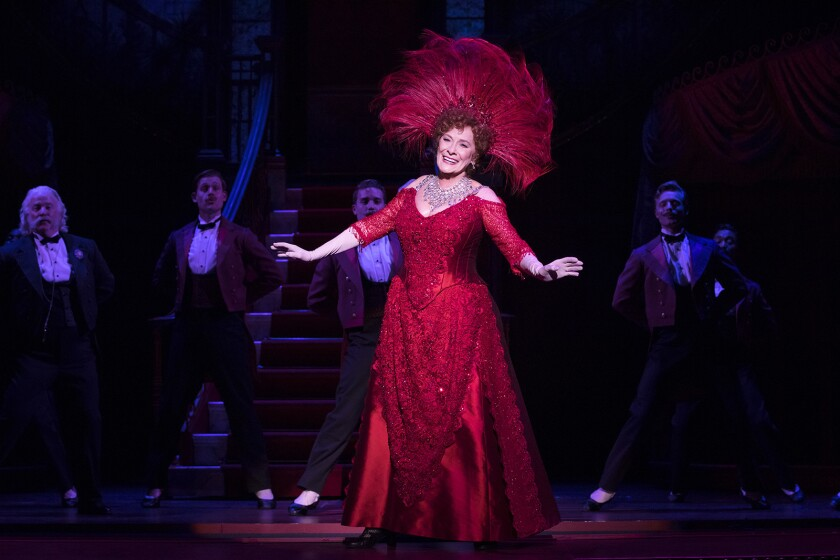 "Betty Buckley heads the cast of the national tour of ""Hello, Dolly!,"" coming to Segerstrom Center in Costa Mesa as well as the Hollywood Pantages Theatre."