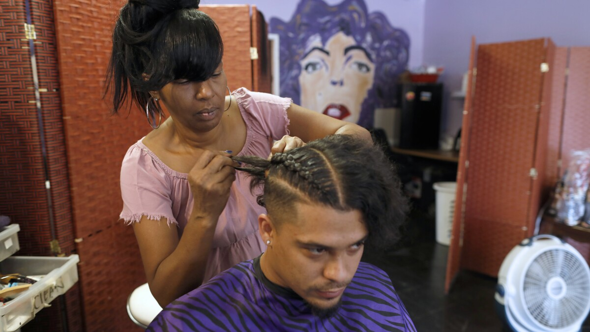 When You Re Black Loving Your Natural Hair Is Part Of Loving Yourself Los Angeles Times