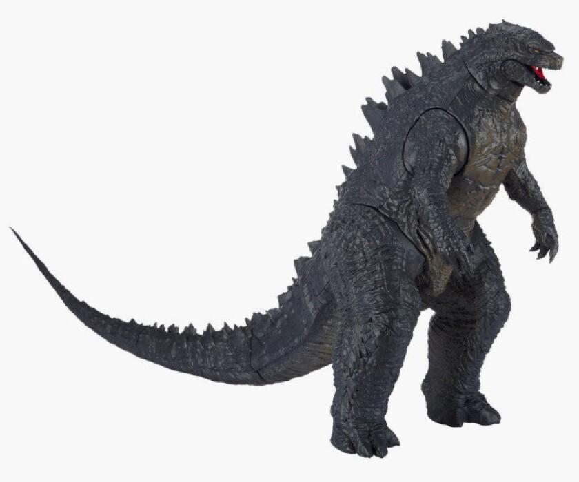 Godzilla action figure made by Jakks Pacific