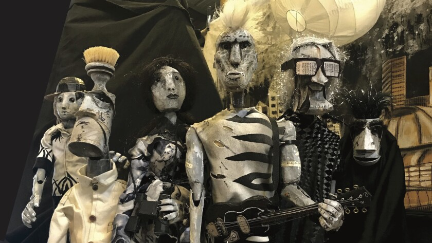 """The fanciful puppets featured in Animal Cracker Conspiracy's """"The Society of Wonder."""""""