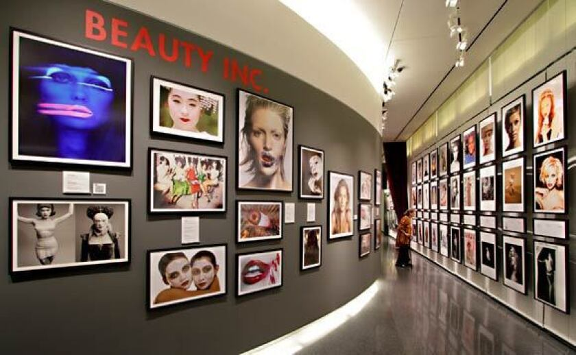"""The Annenberg Space for Photography's 2011 """"Beauty Culture"""" exhibition."""