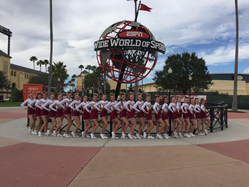 The team at Walt Disney World in Orlando, Fla.