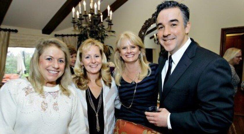 Cindy Klinedinst, Lisa Tarson, Michele Stephens, Dan Klunk from the Ronald McDonald House Charities