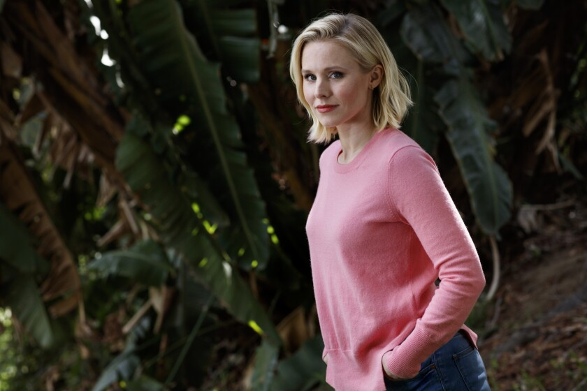 """Kristen Bell has a major supporting role in """"The Boss,"""" and that's just the way she likes it."""