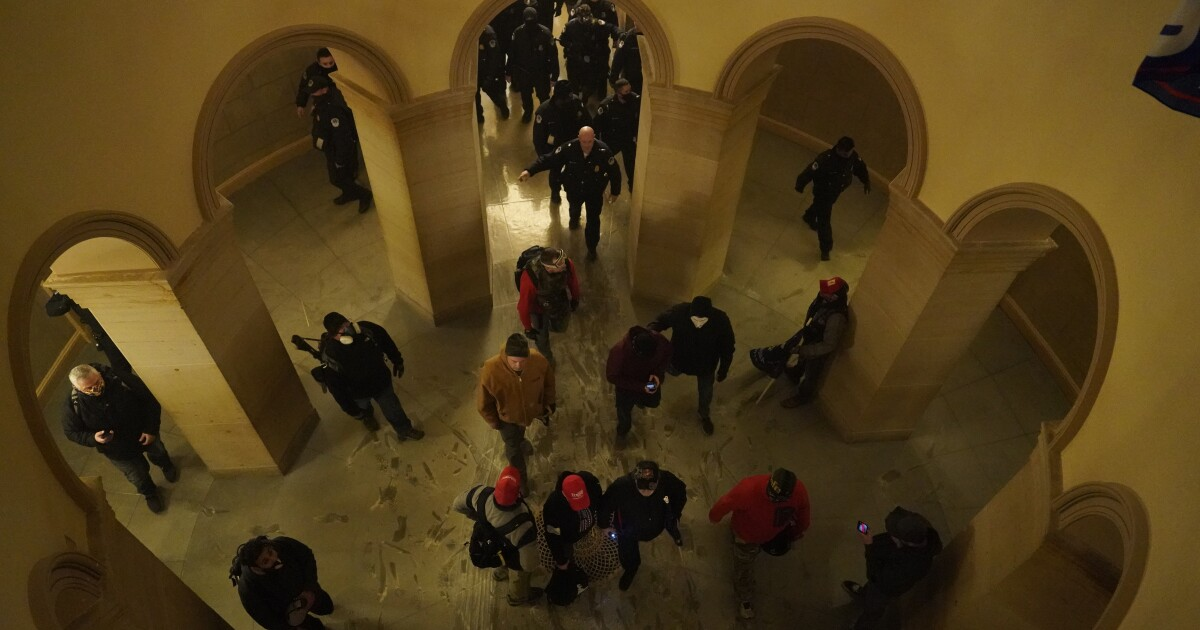 Column: Did the Capitol mob have inside help? If so, can a simple majority vote send the insiders packing?