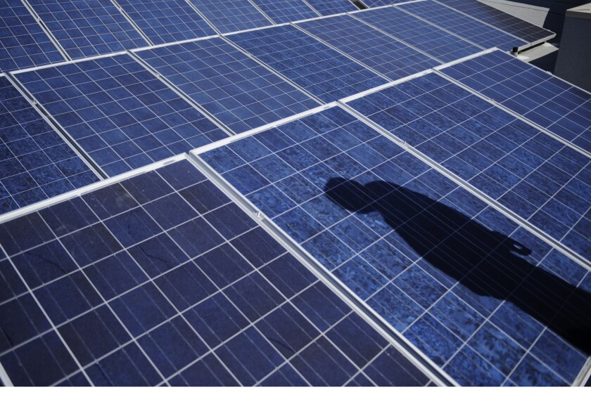 Solar panels produce direct-current electricity that needs to be converted to alternating current so it can be carried into homes or sent to local power grids.