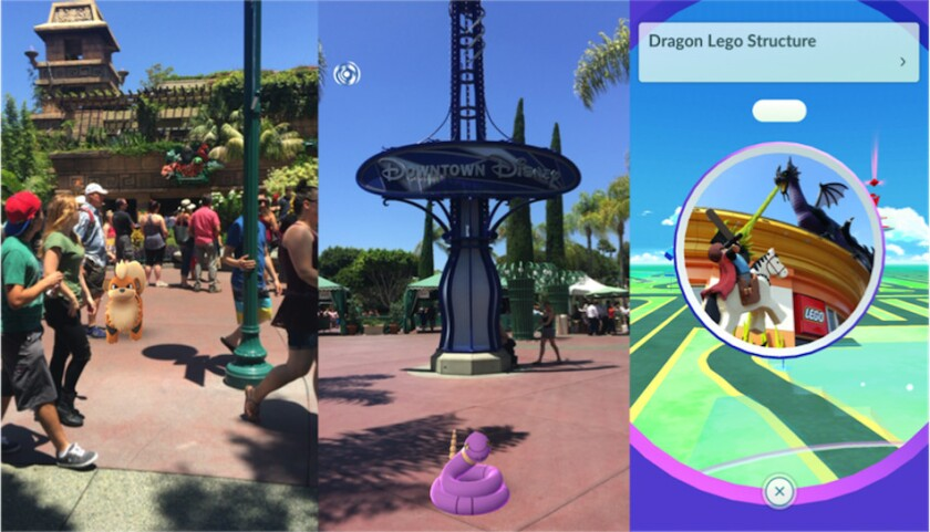 Best Pokémon GO hunting places in California (60 stops in Disney