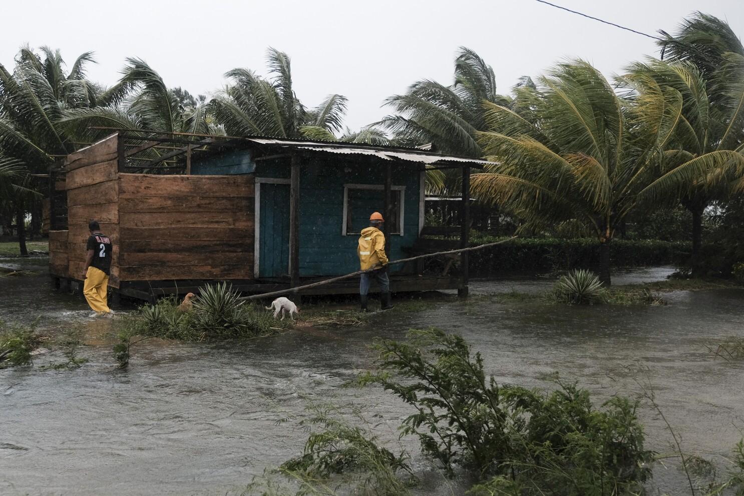 Eta, que avanza por Nicaragua, deja al menos tres muertos - San Diego  Union-Tribune en Español