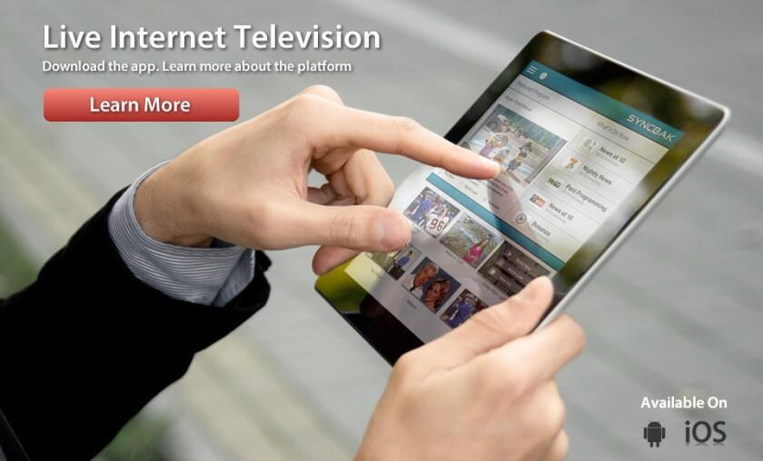 CBS invests in Syncbak; company streams local TV signals