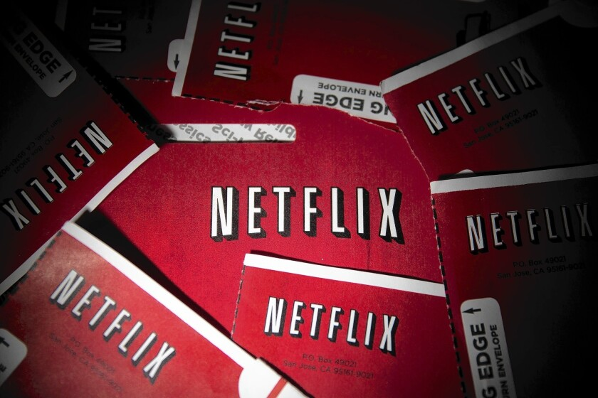 Netflix is shedding hundreds of thousands of its DVD customers every quarter but gaining as many for its growing online streaming business.