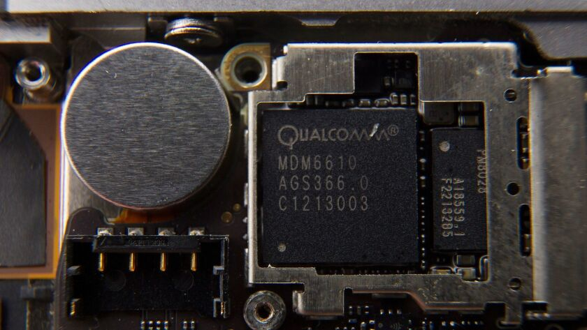 Qualcomm reported fourth quarter earnings in line with analysts expectations on Wednesday