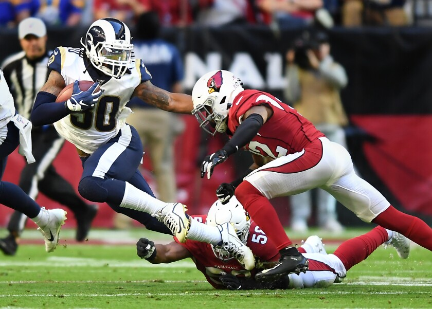 Rams Could Again Turn To Todd Gurley In Crucial Home Game