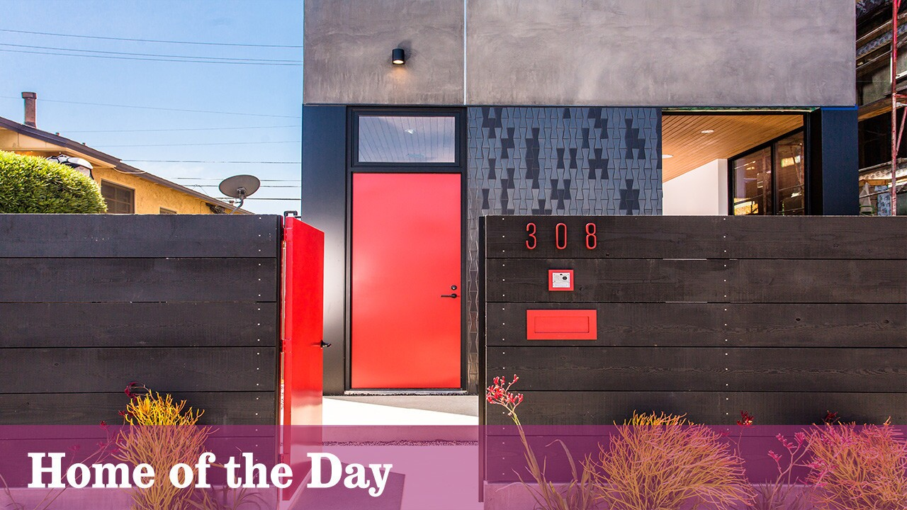 Home Of The Day Scandinavian Inspired In Venice Los Angeles Times