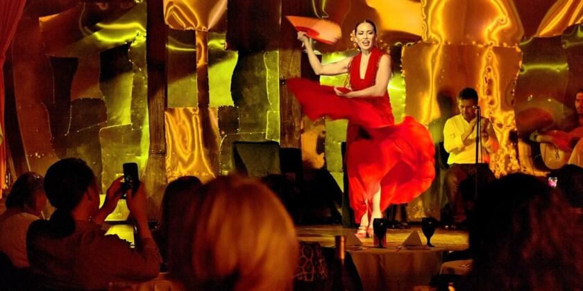 Cafe Sevilla San Diego Christmas Dinner 2021 Theater Notebook Art Of Flamenco Dinner Show Returns To Cafe Sevilla The San Diego Union Tribune
