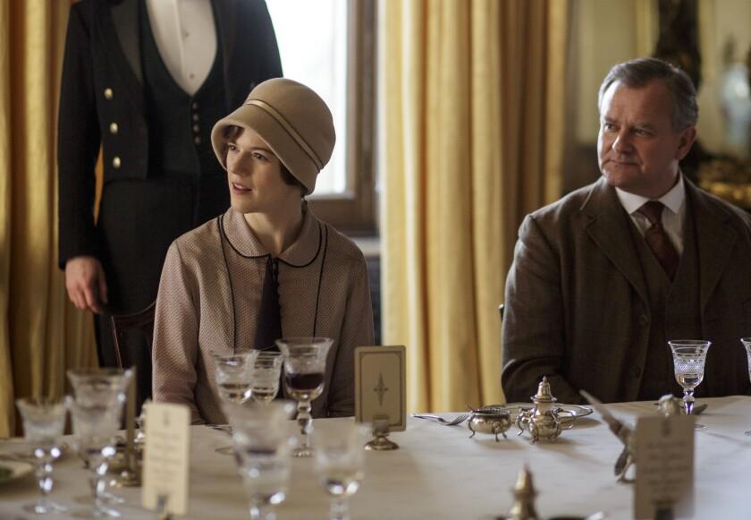 """Gwen returns to """"Downton Abbey"""""""