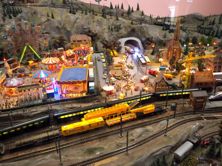 Although Mulhouse's Cite du Train mostly displays full-size trains, it also has one of Europe's most elaborate model railway layouts.