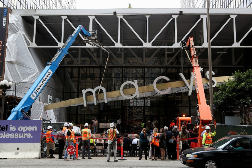 Construction starts at the Bloc, formerly known as Macy's Plaza
