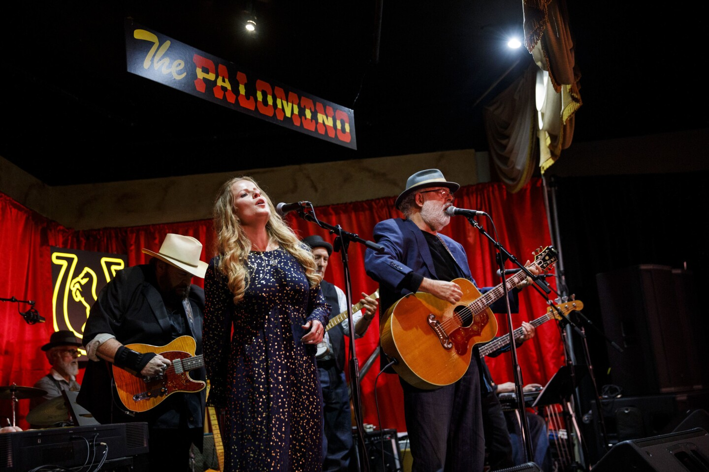 Music and dance at the Palomino Club