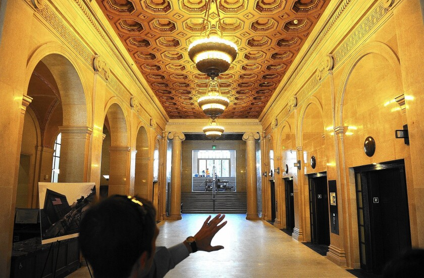 Renovated Hall of Justice