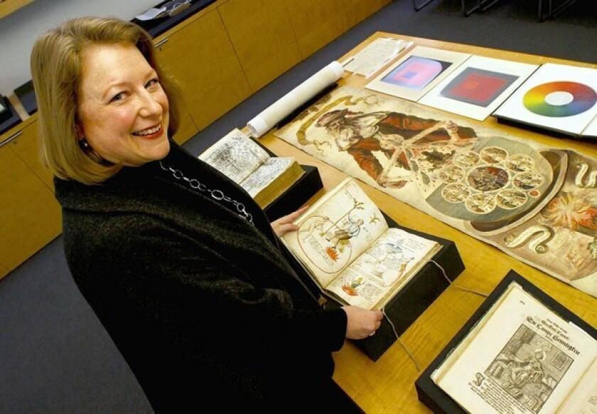 USC history professor Deborah Harkness.