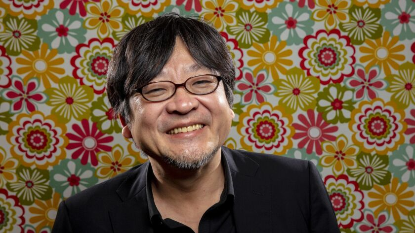 LOS ANGELES, CA --OCTOBER 23, 2018 -- Japanese anime director Mamoru Hosoda, is photographed during