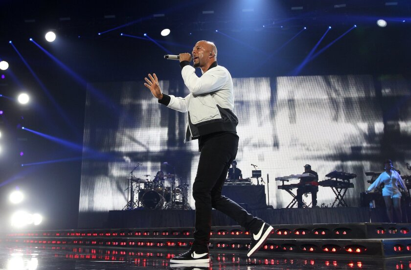 Oscar-winning rapper Common will perform this summer for the first time with the San Diego Symphony in a concert of orchestral hip-hop.