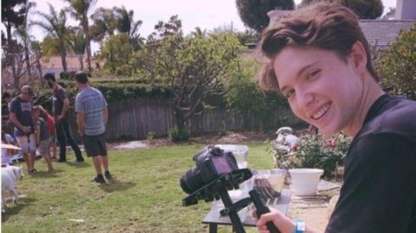 "Nathaniel ""Nate"" Goodman, 17, has just won a national Diller Teen Tikkun Olam Award and $36,000 for"