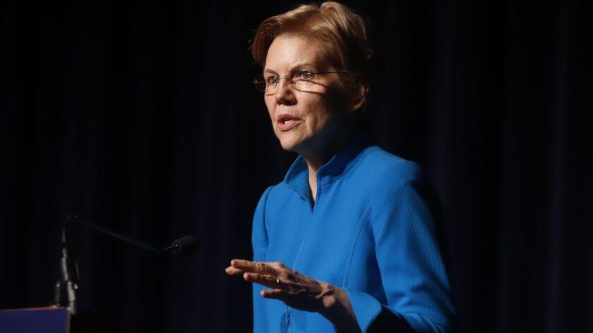 Senator Warren says Puerto Rico did not receive fair aid for reconstruction, San Juan - 23 Jan 2019