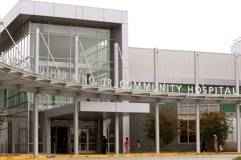The new state-of-the-art Martin Luther King, Jr. Community Hospital opened its doors to the public on July 7.