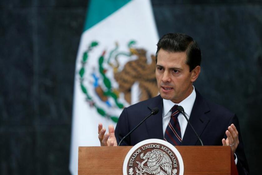 En la imagen, el presidente de México, Enrique Peña Nieto. EFE/Archivo